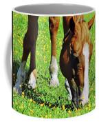 Nibbling On Flowers Coffee Mug