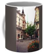 Niederdorf Square In Zurich Switzerland Coffee Mug