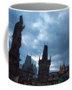 Night Along The St. Charles Bridge Coffee Mug by Matthew Wolf