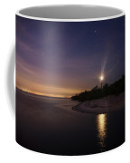 Night At The Sanibel Lighthouse Coffee Mug