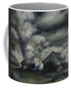 Night Barn Coffee Mug