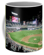Night Baseball In Minneapolis Coffee Mug