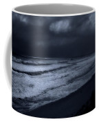 Night Beach - Jersey Shore Coffee Mug