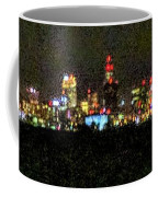 Night Cleveland Coffee Mug