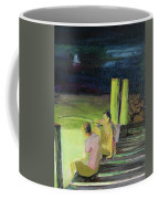 Night Fishing Coffee Mug