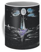 Night Fishing Coffee Mug