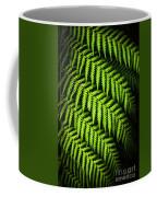 Night Forest Frond Coffee Mug