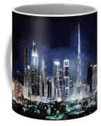 night in Dubai City Coffee Mug