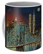 Night In Manhattan Coffee Mug
