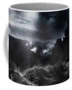Night Landscape. Australian Mountain View Coffee Mug
