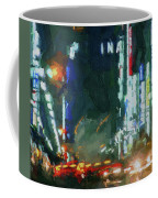 Night Lights City Coffee Mug