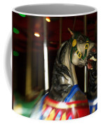Night Mares At The Central Park Carousel 3 Coffee Mug