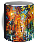 Night Mood In The Park Coffee Mug