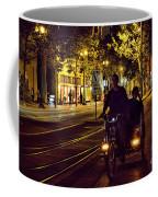 Night Moods Streets Of San Jose   Coffee Mug