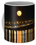 Multi Reflective Bridge And Moon Lights Coffee Mug