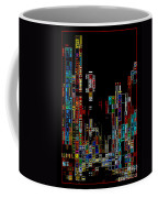 Night On The Town - Digital Art Coffee Mug by Carol Groenen