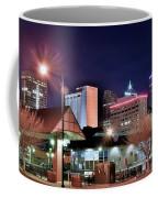 Night Panorama Of Okc Coffee Mug