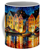 Night Resting Original Oil Painting  Coffee Mug