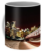 Night Shots Calgary Alberta Canada Coffee Mug