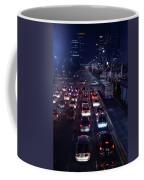 Night Skyline Of Jakarta Indonesia 2 Coffee Mug