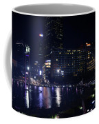 Night Skyline Of Jakarta Indonesia 4 Coffee Mug
