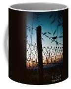 Night Sparrow Coffee Mug