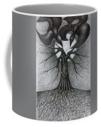 Night Tree Moon And We  Coffee Mug
