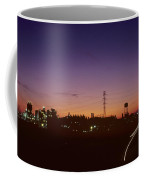 Night View Of An Industrial Plant Coffee Mug