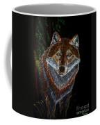 Night Wolf Coffee Mug