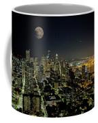 Nightlights Seattle Washington  Coffee Mug