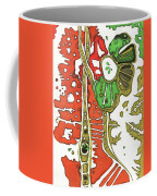 Nightmare In The Garden Coffee Mug