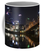 Nighttime In The City Coffee Mug