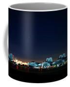Nighttime Raptors On The Move Coffee Mug