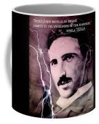 Nikola Tesla - Quote Coffee Mug