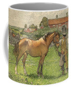 Nils Kreuger, 1858-1930, Brunte Picked Up On Sunday Morning Coffee Mug