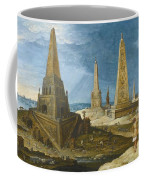 Nimrod Amongst The Monuments Coffee Mug