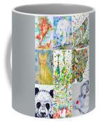 Nine Animals - Version 1 Coffee Mug