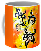 Nirvana Zen Yellow Way To Eternity Coffee Mug
