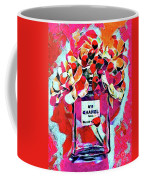 No 5 Pink Colored Coffee Mug