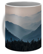 Misty Blue Shades Of Generals Highway 2 Coffee Mug