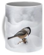 Chickadee Finds A Peanut Coffee Mug