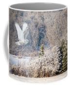 Snowy Owl Flight Coffee Mug