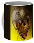 No Mouth Coffee Mug