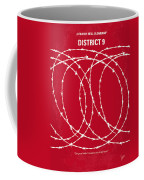 No023 My District9 Minimal Movie Poster Coffee Mug by Chungkong Art