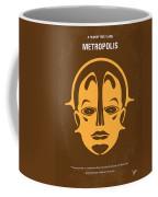 No052 My Metropolis Minimal Movie Poster Coffee Mug