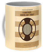 No055 My O Brother Where Art Thou Minimal Movie Poster Coffee Mug