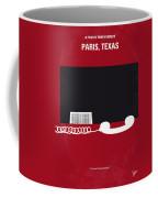 No062 My Paris Texas Minimal Movie Poster Coffee Mug