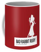 No14 My Minimal Color Code Poster Jessica Rabbit Coffee Mug