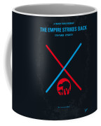No155 My Star Wars Episode V The Empire Strikes Back Minimal Movie Poster Coffee Mug