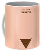 No160 My Emmanuelle Minimal Movie Poster Coffee Mug
